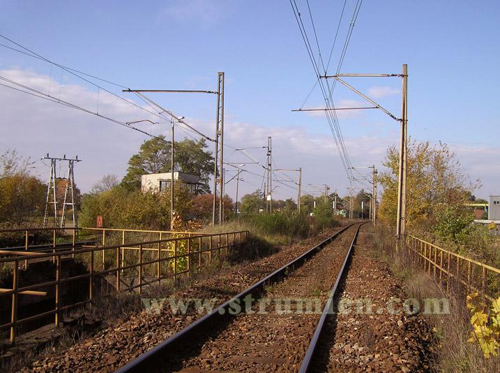 Linia kolejowa w Strumieniu