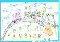 4. Michalina Opoka, wyróżnienie kategoria przedszkole
